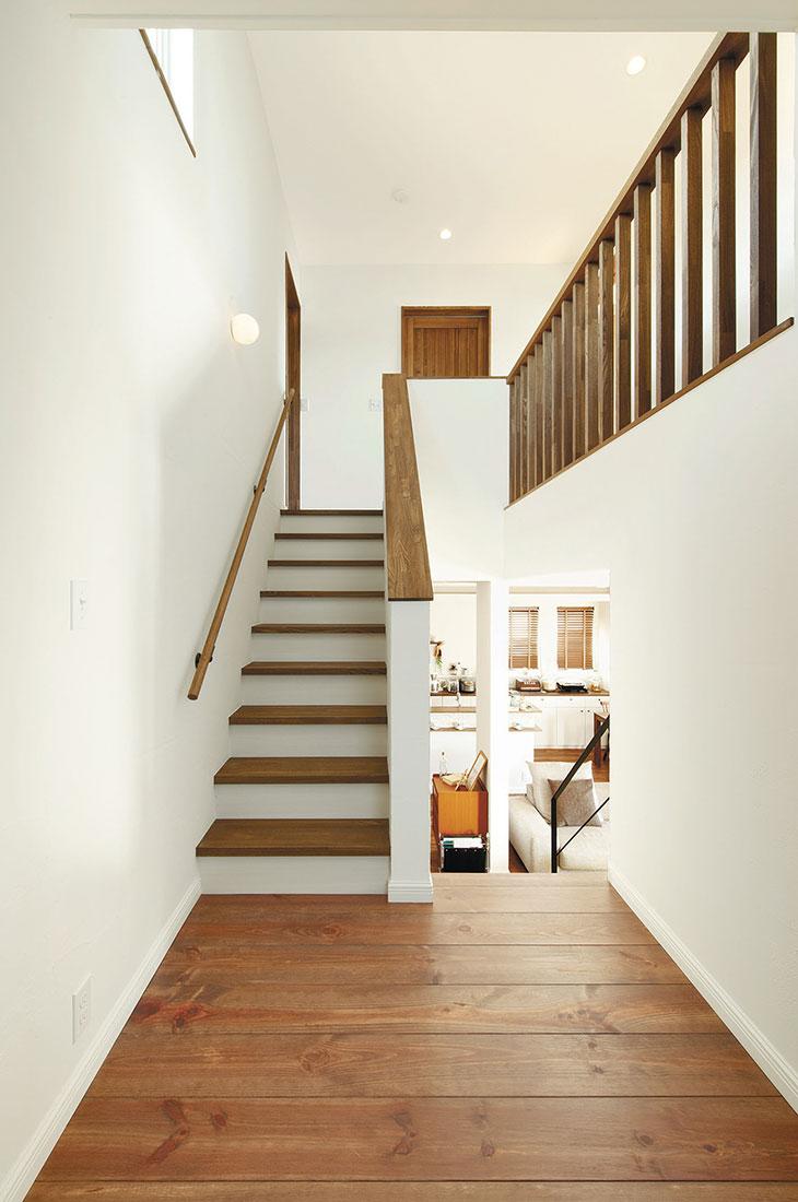 growの家 階段