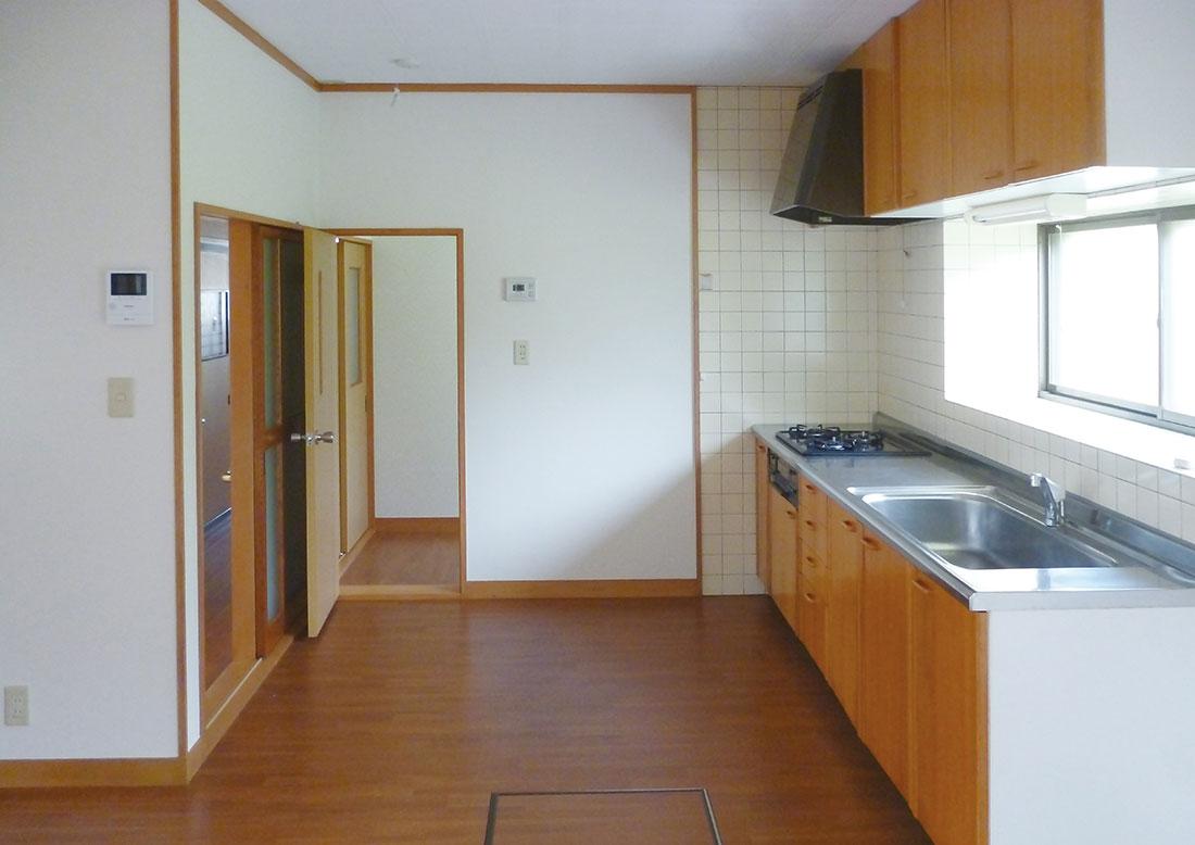 C様邸 施工前キッチン