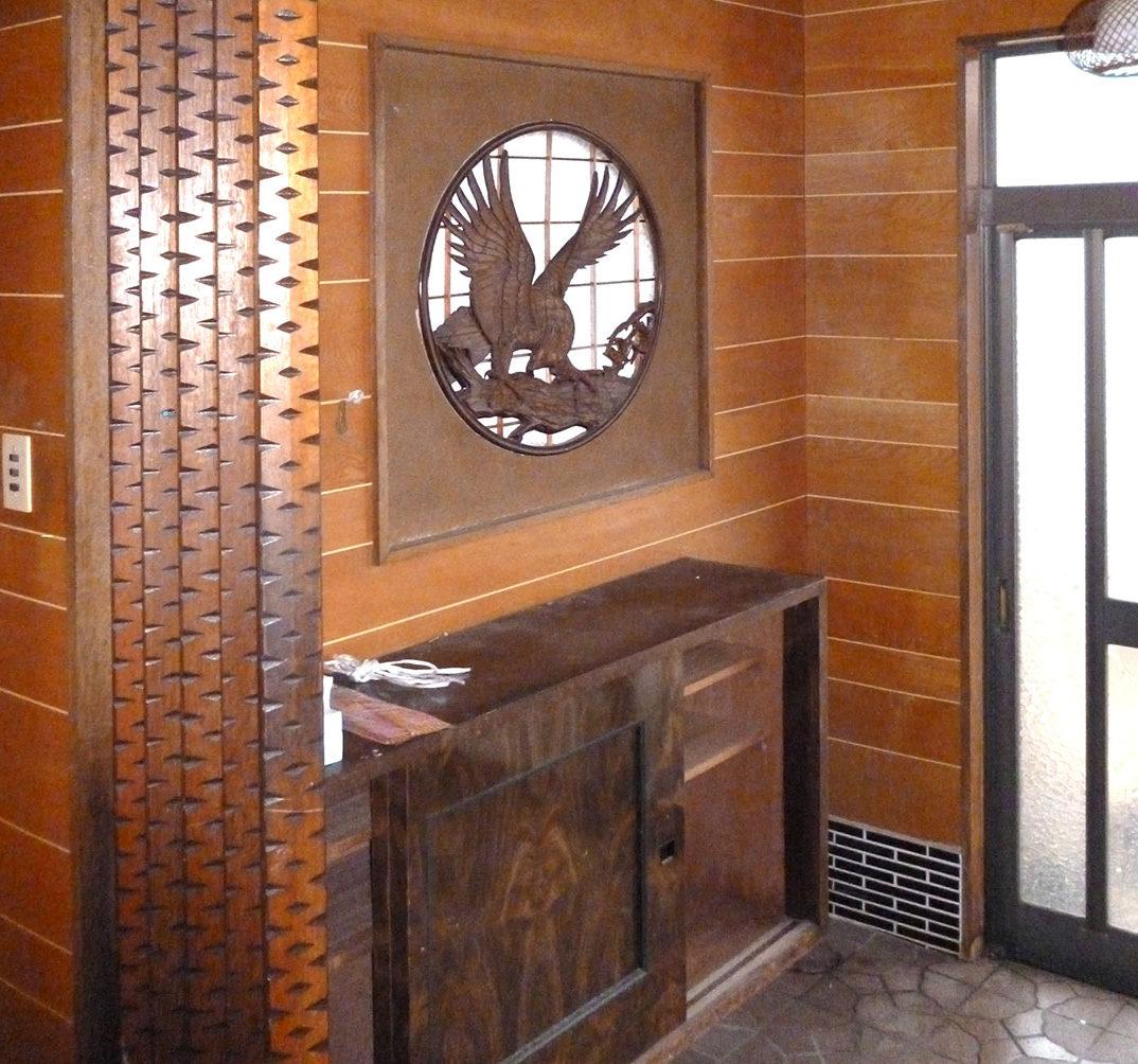I様邸 施工前の玄関