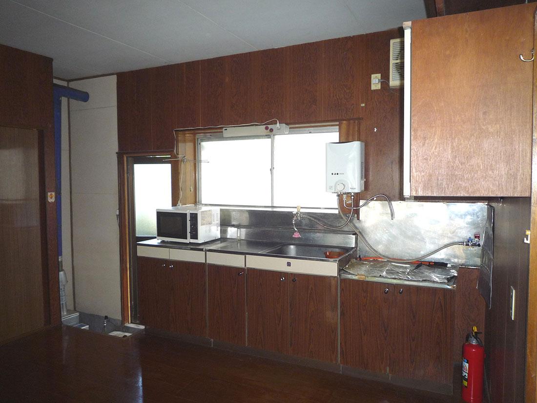 M様邸 施工前のキッチン