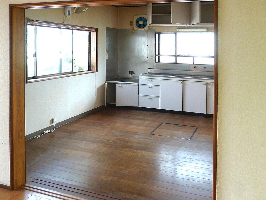 G様邸 施工前のダイニングキッチン
