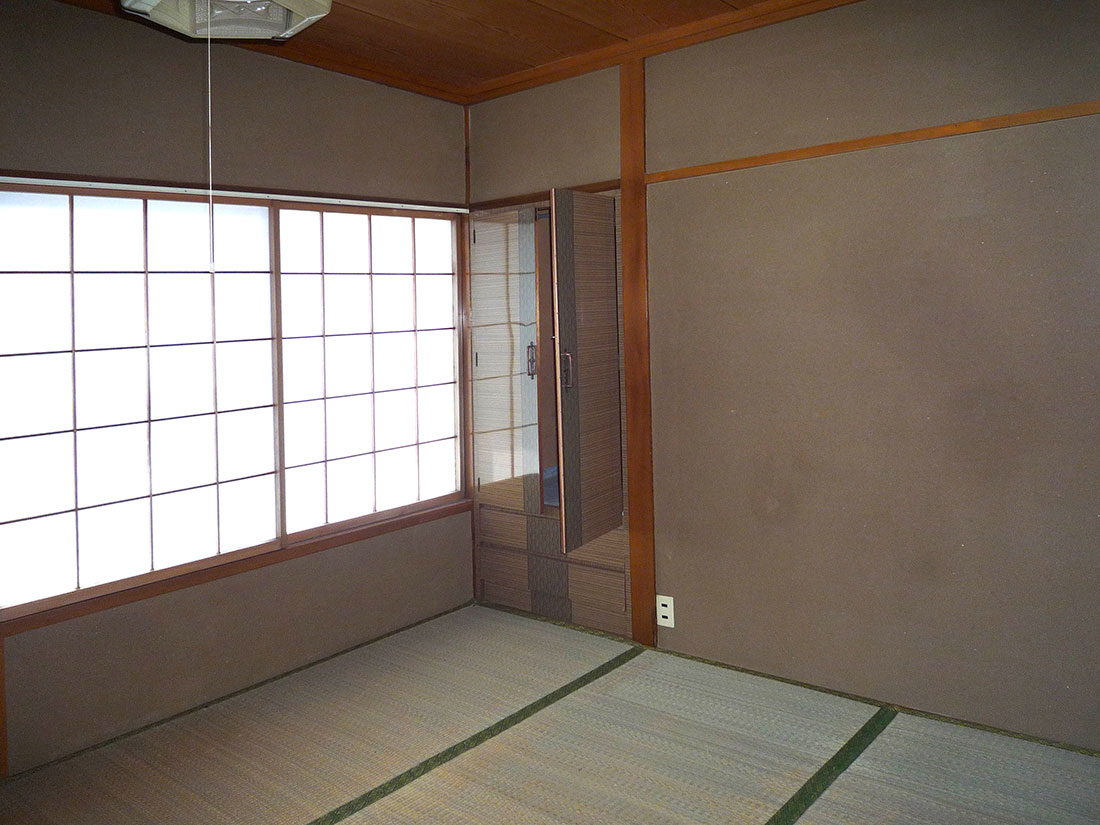 M様邸 施工前の和室