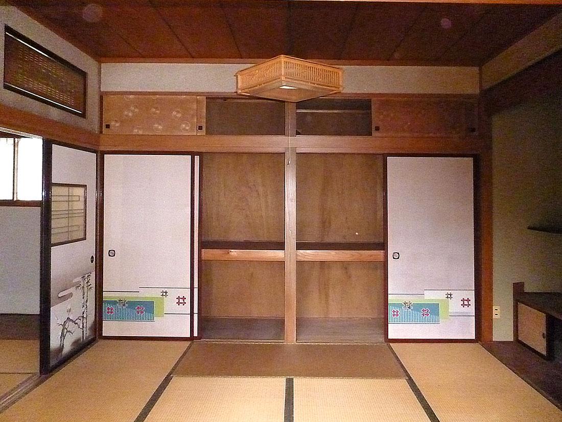 I様邸 施工前の和室