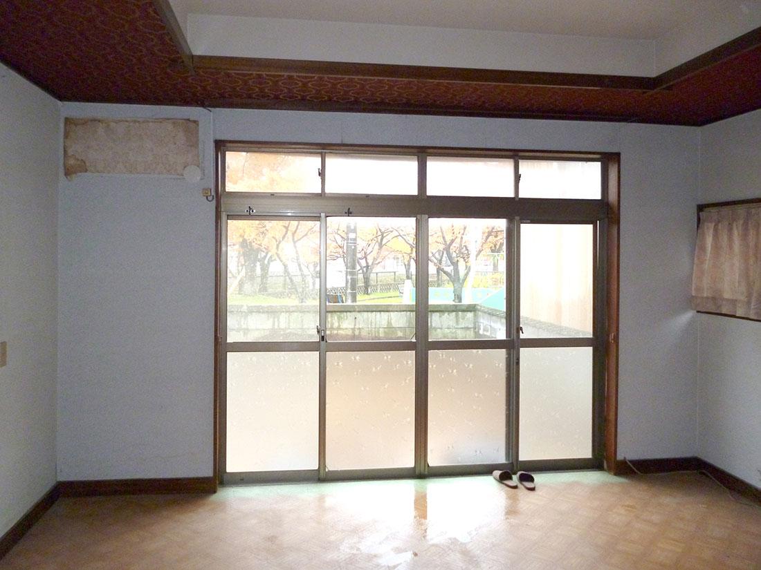 I様邸 施工前の主寝室