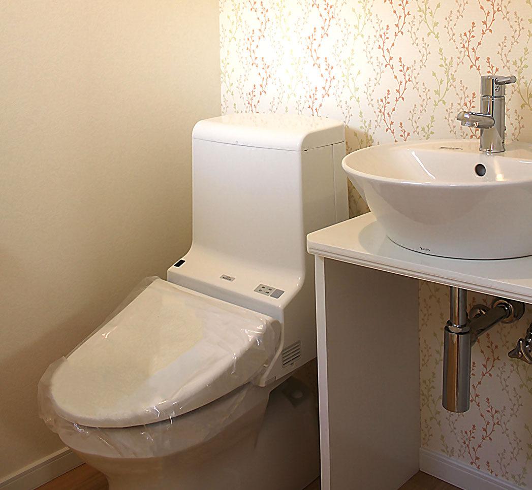 I様邸 施工後のトイレ