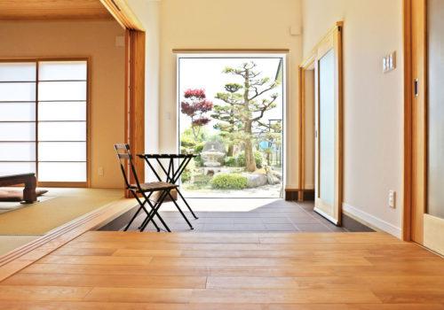 naturalstyleの平屋建ての土間スペース。酒田鶴岡で新築&デザイン住宅・リノベーションを手がける工務店 ナチュラル工房