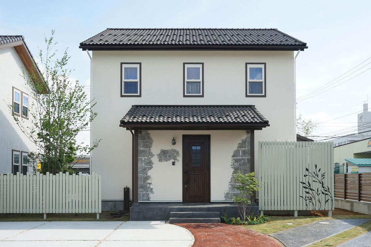 ヨーロッパテイストのおしゃれでかわいいナチュラルカントリーのお家、それがmamanです。【酒田鶴岡で新築、デザイン住宅、リノベーションの工務店 ナチュラル工房伊藤住宅】