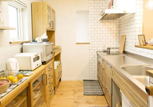 こだわりが詰まったMamanママンのキッチン施工例