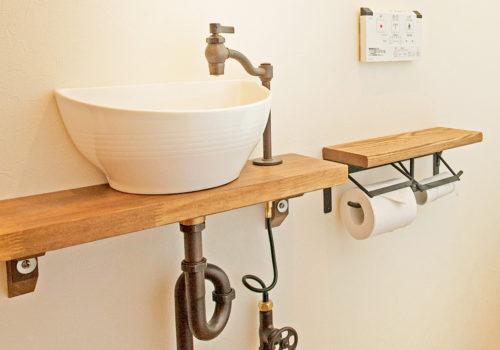 トイレもお気に入りの空間に仕上げた施工例