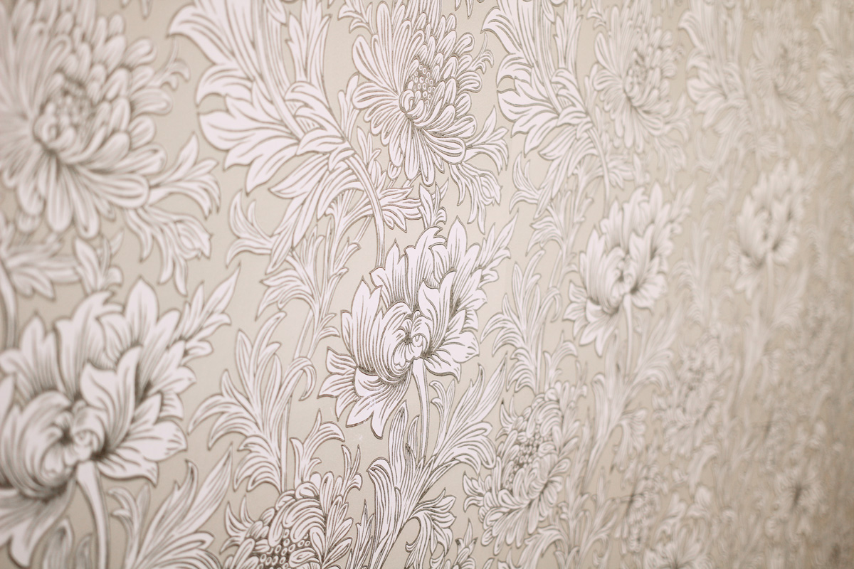 ウィリアム・モリスのボタニカルデザイン壁紙