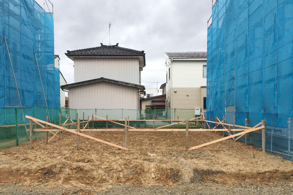ママンの家が建つ土地