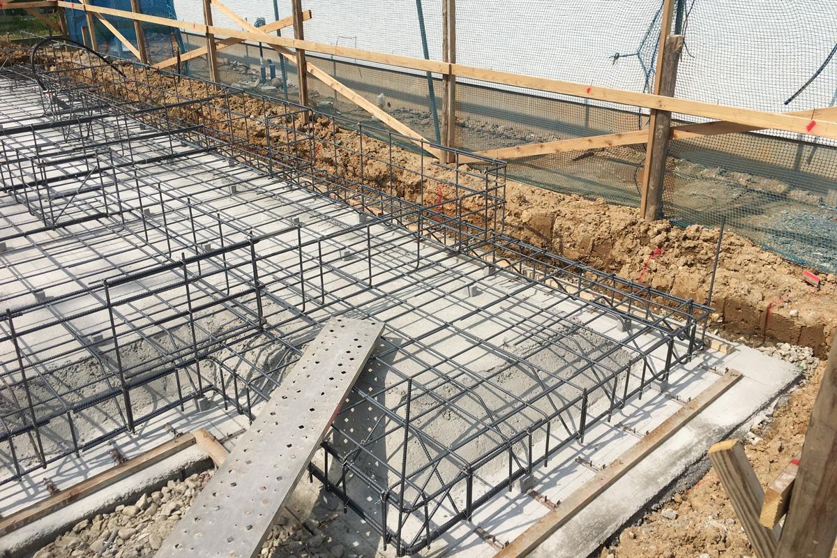 基礎コンクリート強度に大切な配筋工事