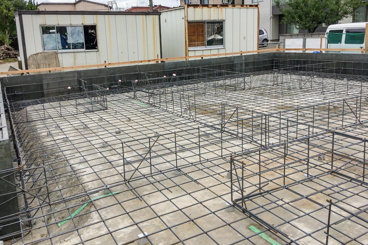 コンクリート強度に必要な適切な配筋工事