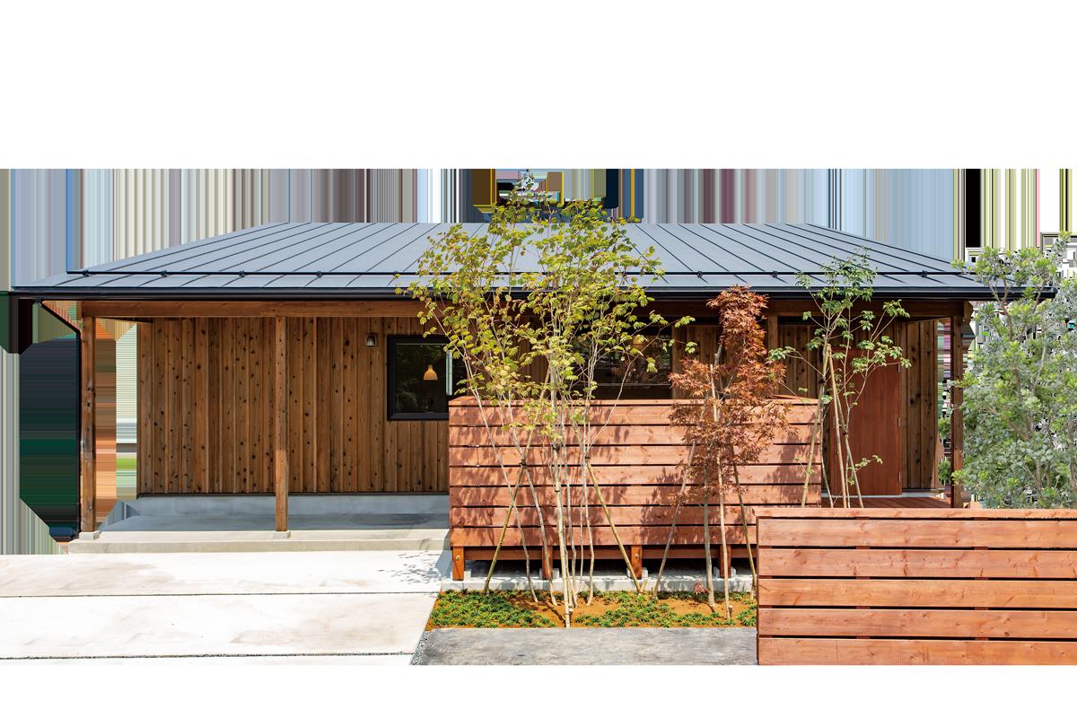 無垢の木の香りにやさしく包まれるシンプルに心豊かに暮らすセミオーダータイプの平屋のPORTEONE