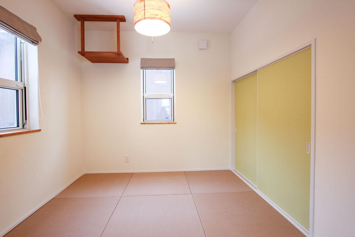 琉球畳のこだわりの和室