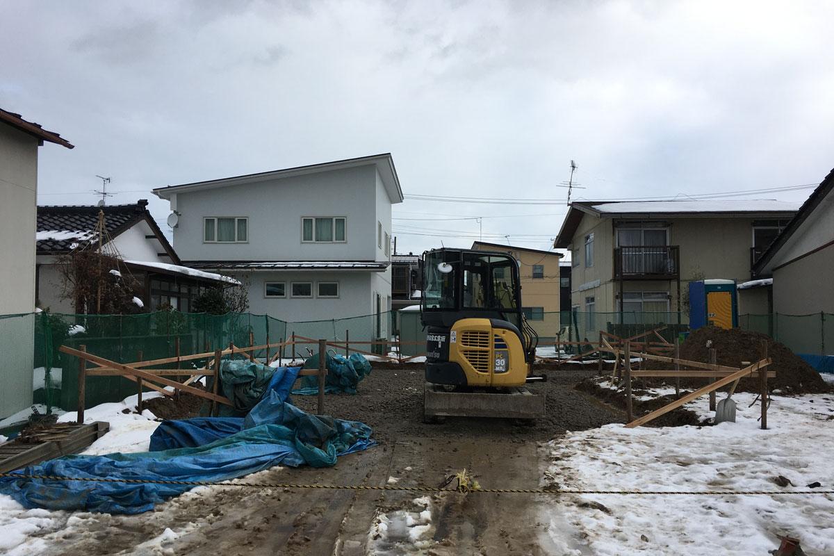 家の強度に重要な基礎工事も丁寧に進められています。