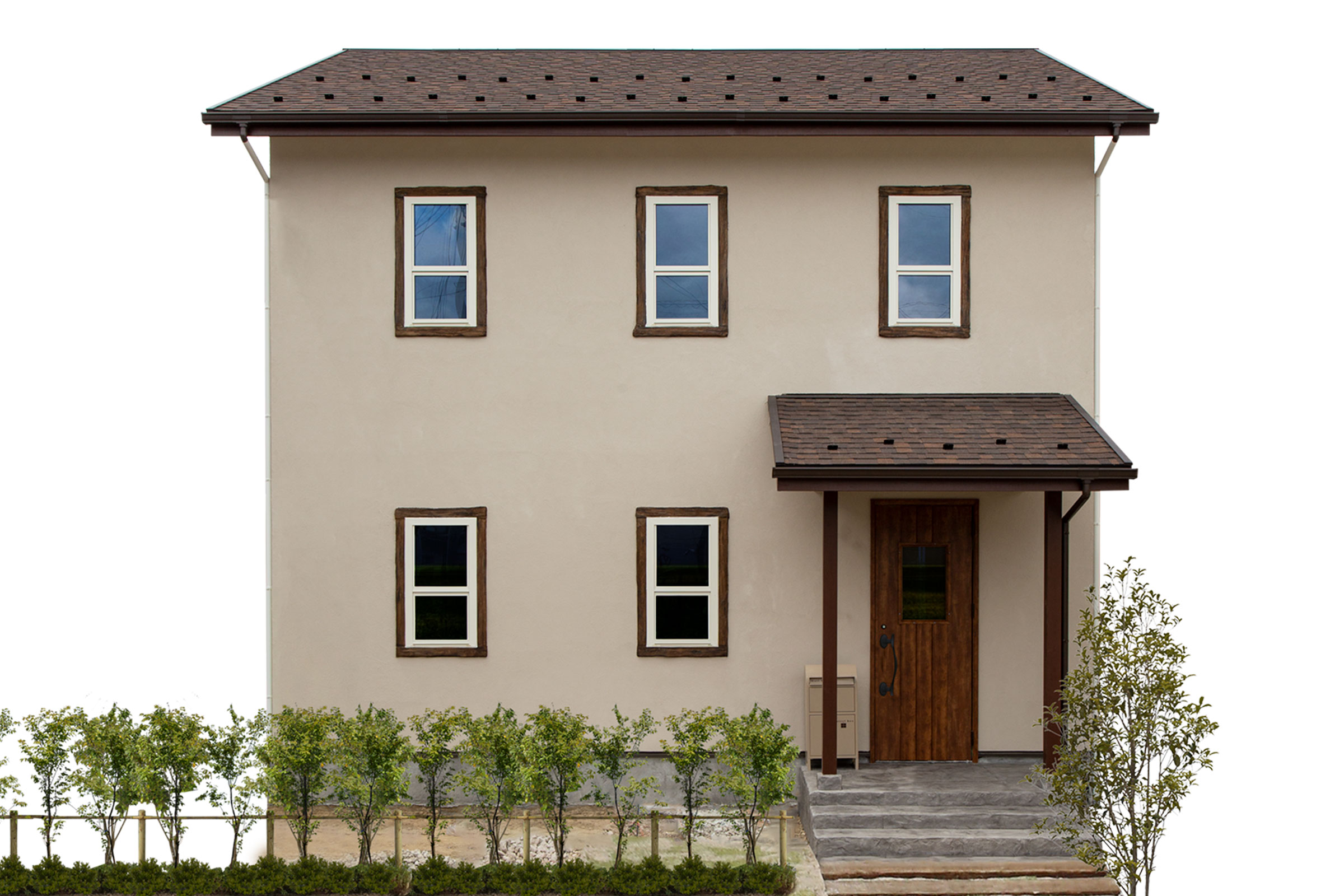 ブリティッシュスタイルのママンの家