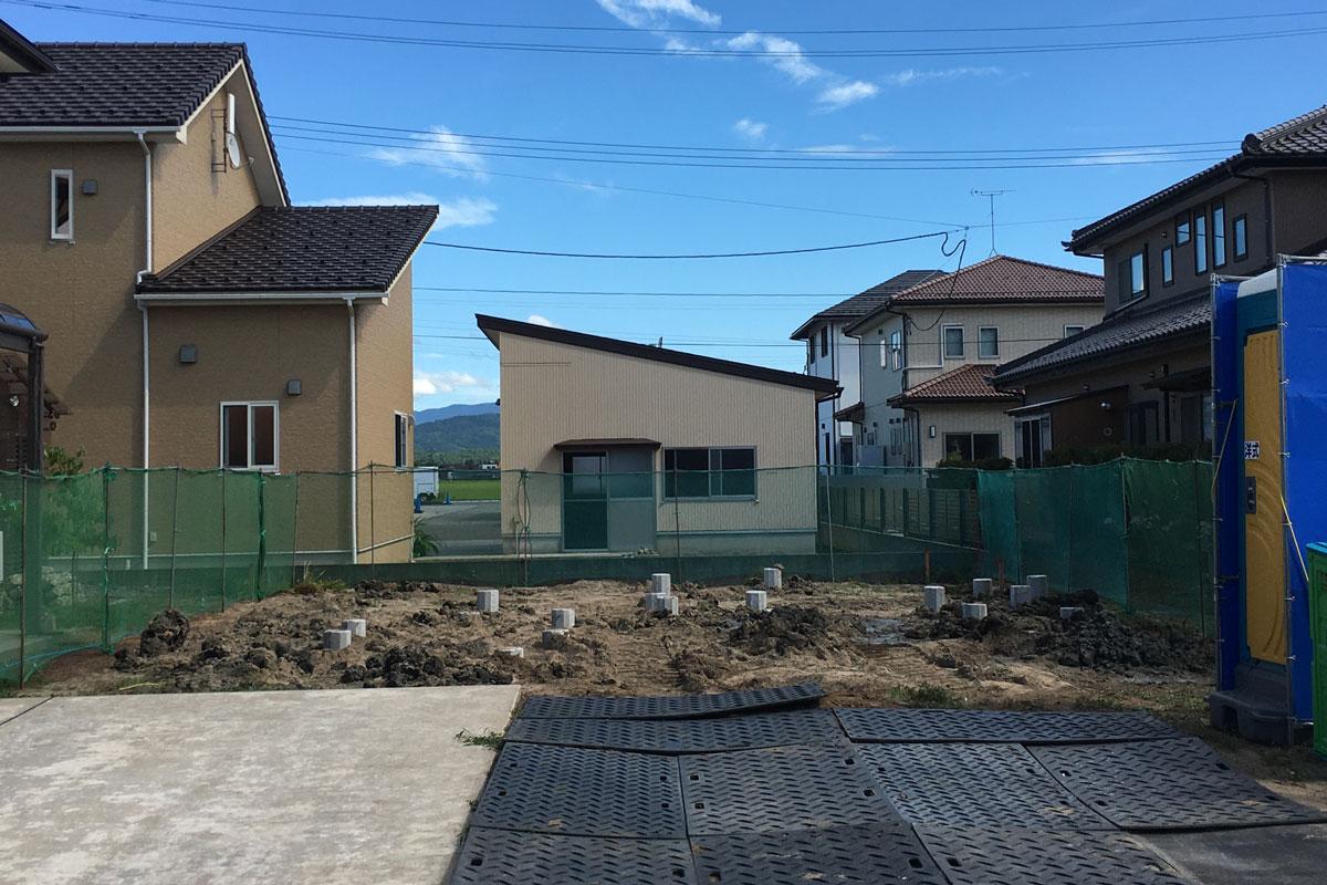 お家を支える地盤改良